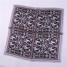 45x45cm Mini fashion scarf women, 100% Silk Scarf Square Dot Design, scarves luxury brand,womens scarfs for elegant decoration(China (Mainland))