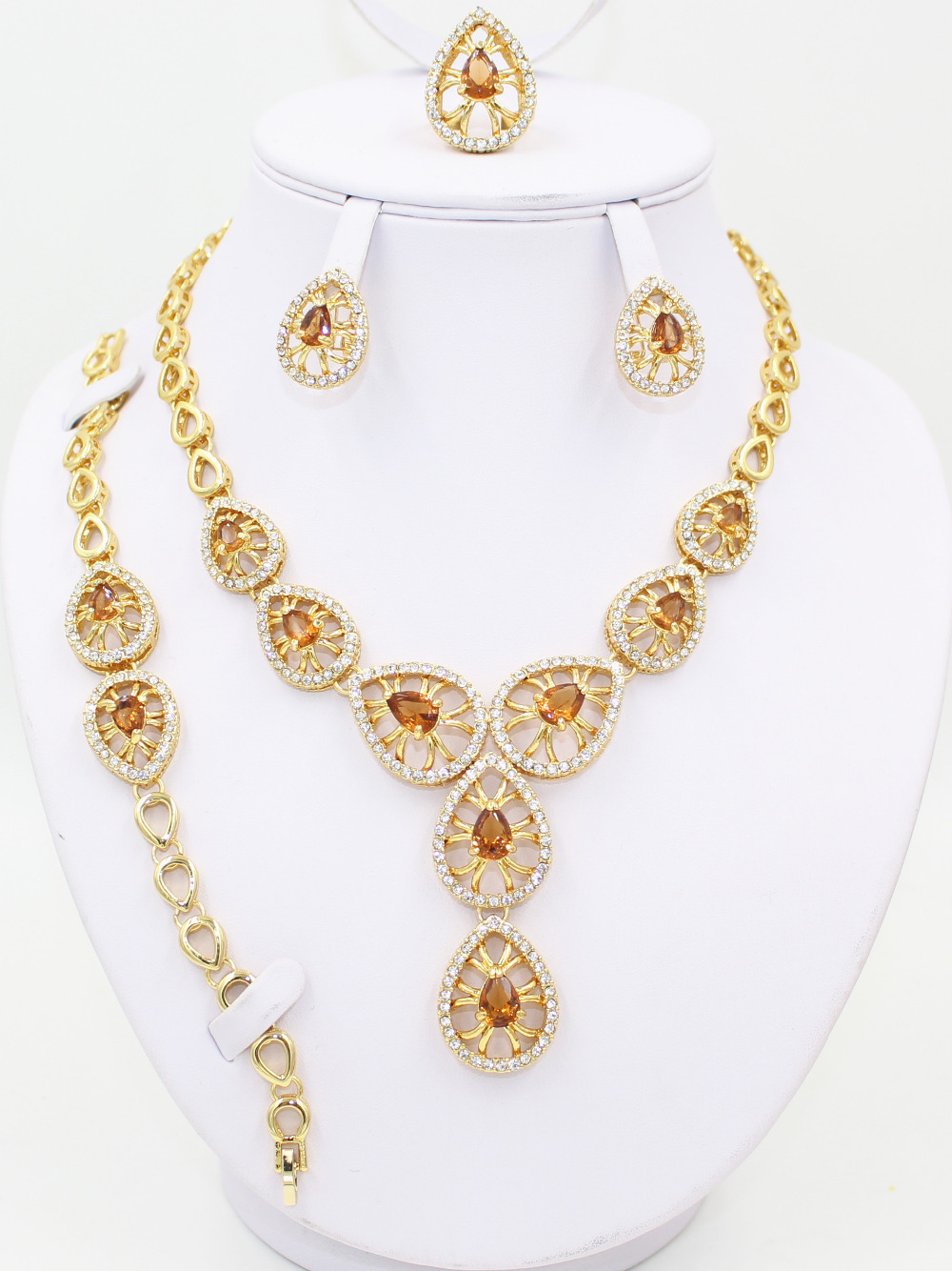 Bridal Fashion Jewelry For Cheap african gold plated wedding