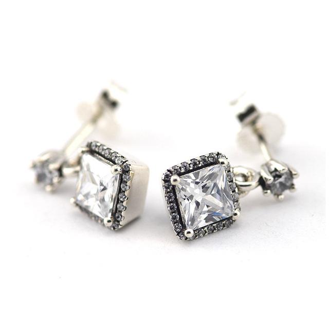 925 серебряные ювелирные изделия элегантность женщины серьгу женские гипоаллергенные мода DIY ювелирных аксессуаров