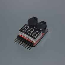 Niederspannungs Alarmton 1-8 S Lipo/Li-Ion/Fe Batteriespannung 2IN1 Tester Best Selling(China (Mainland))