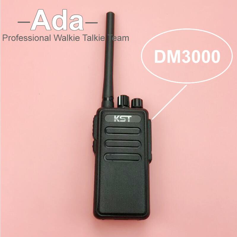Walkie Talkie KST DM3000 DMR 400-470MHz 8W FM Transceiver 16CH Portable Ham Radio A7214A(China (Mainland))