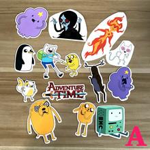 Buy Adventure Time Doodle Cartoon Skateboard Suitcases Guitar Car Bike Laptop Vinyl Stickers PVC Waterproof sticker decal for $2.14 in AliExpress store