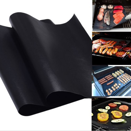BBQ GRILL MAT - As Seen On TV! Make Grilling Easy! (2 Mats Per Pack) free Shipping(China (Mainland))