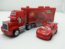 Pixar Cars Mack Uncle & No.95 MaiKun Metal Diecast Toy Car 1:55 Loose Brand New In Stock & Free Shipping(China (Mainland))