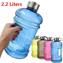Portable 2.2L BPA Free Plastic Big Large Capacity Gym Sports Water Bottle Outdoor Picnic Bicycle Bike Camping Cycling Kettle NEW(China (Mainland))
