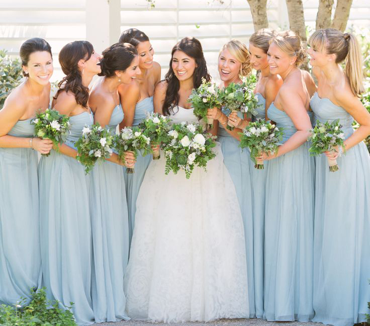 Bridesmaid Dresses Color Pool