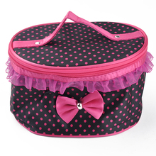 Cosmetic Bags Women Travel Makeup Bag Box Organizer Pouch Clutch Handbag PB1041W*50(China (Mainland))