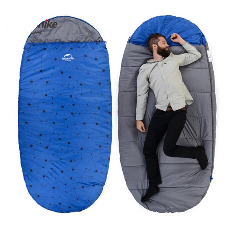 Large Sleeping Bag Adult Camping Sleeping Bag Winter Bear ...