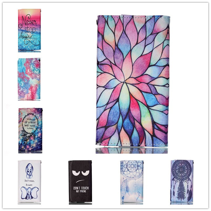 For Intex aqua Q5 Case Mobile Phone Cases High Quality Fashion Painting Leather Wallet Case Free Shipping(China (Mainland))