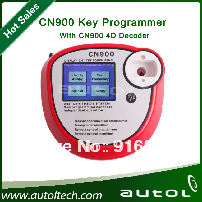 New Transponder Chip Key Copy Machine Auto Car Key Programmer CN900+4DBOX(China (Mainland))