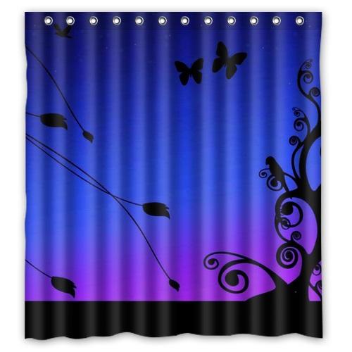 Cortinas De Baño En Tela:Baño de poliéster baño tela de la cortina impreso Animal lindo de