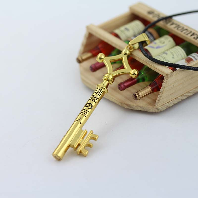 Attack on Titan Cosplay Costume Eren Basement Key Necklace New Free Shipping(China (Mainland))