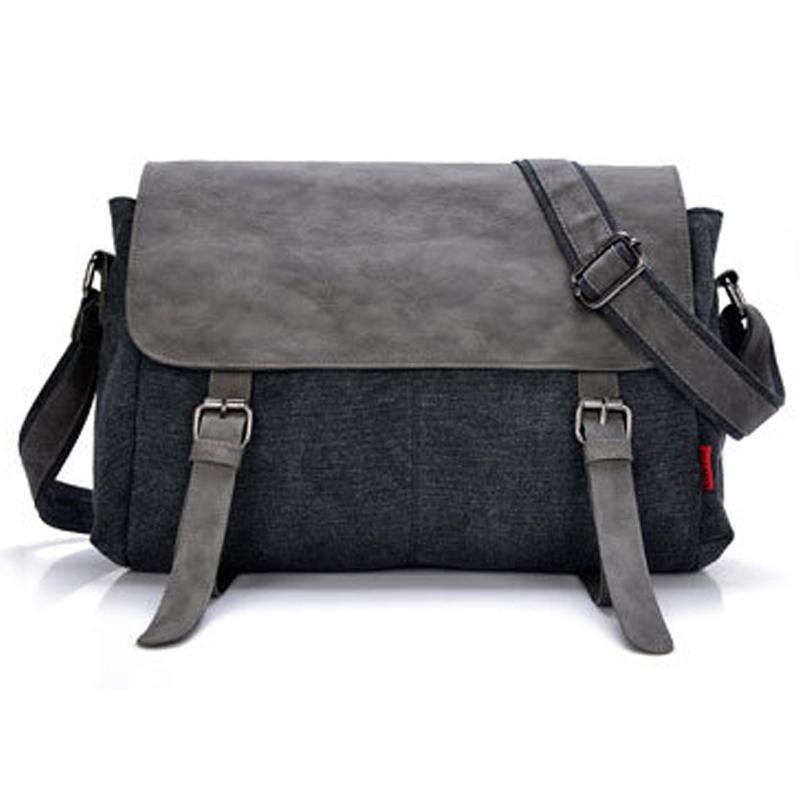 New Arrival Striated Handbags Patchwork Men Business Bag with Belt Casual Bag portadocumentos CX207