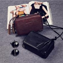 Fashion Populor Women Messenger Bags Tassels Ornaments Women Crossbody Bags Quality Genuine Leather Small Shoulder Bag Bolsas