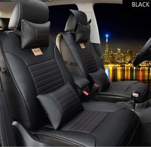 Buy brand leather black/brown Car Seat Cover Front&Rear complete seat Hyundai sonata elanter Accent ix30 ix35 cushion covers for $79.99 in AliExpress store