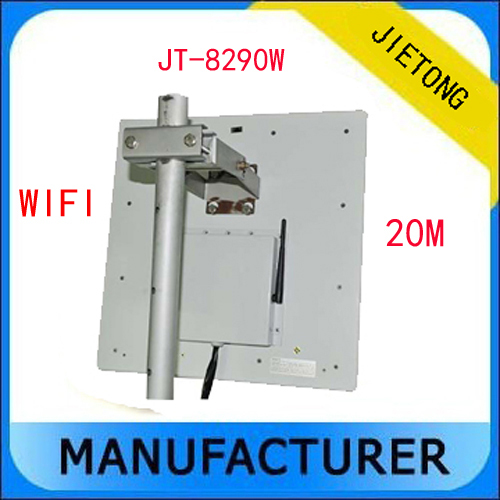 20M UHF RFID Passive Long Range Reader with WIFI Communication Interface + Free SDK and tags RS232 Wiegand26/34/32(China (Mainland))