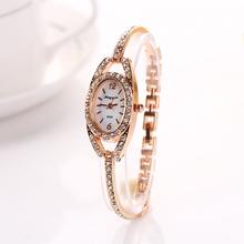 King Girl Brand Rhinestone Casual Luxury Fashion Ally Bracelet Wristwatch Women Dress Jewelry Watch Crystal Women Watch XR729