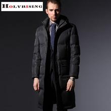 Thickening plus-size casual waterproof men down jacket 80% goose down winter jacket men parka men manteau homme 2 colours(China (Mainland))