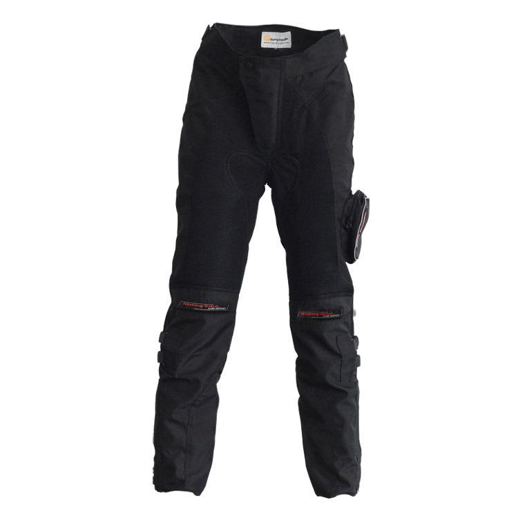 Men Motorcyle Pants Racing Downhill Komine Race Motocross Motorcycle Moto Jeans Knee Pad Trousers Moletom - LeiLei Co.,Ltd store