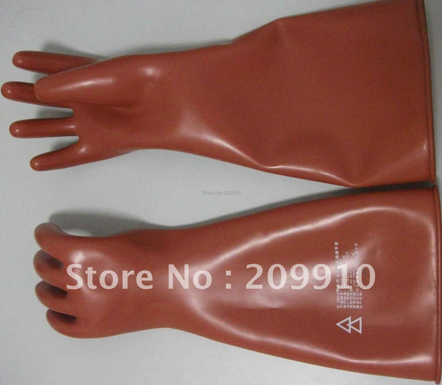 Insulating gloves with live working safety gloves Free shipping