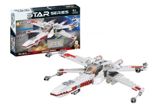 New Original 361pcs/lot Star Wars X-Wing Starfighter Spaceship Brick Block Starwars Figures Toys Compatible With Lego Fighter W
