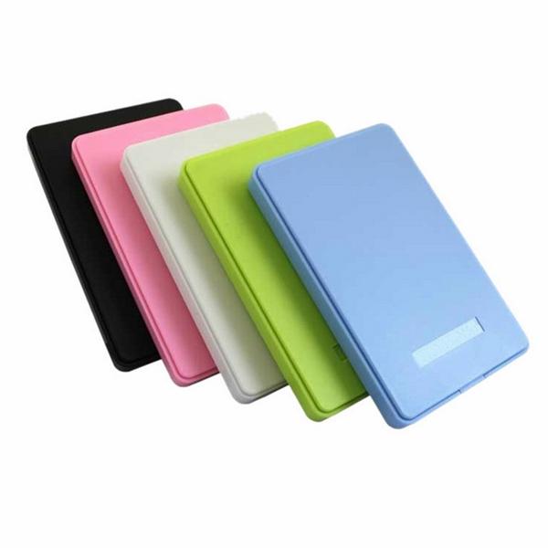 "High Quality Multicolors ABS 2.5"" SATA to USB2.0 2TB Hard Drive Disk HDD Case External Storage Enclosure Disco Duro Externo Box(China (Mainland))"