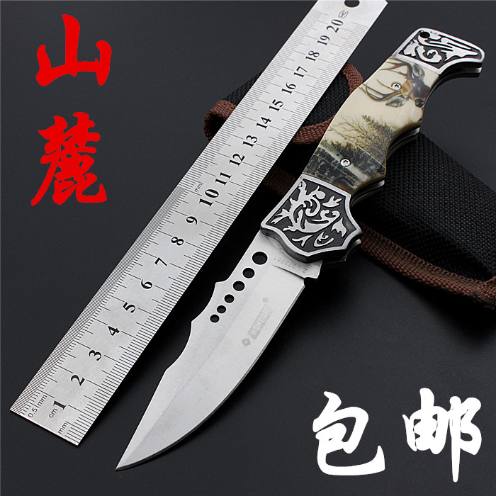 The Browning Barker outdoor camping folding knife knife wilderness survival high hardness Swiss multi-function knife<br><br>Aliexpress