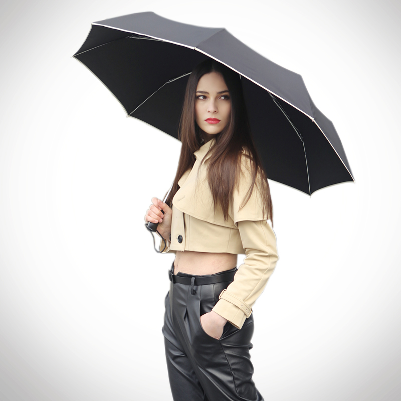 High quality 3 fold umbrella popular women rain umbrella windproof brand automatic man's umbrella waterproof SV3232B(China (Mainland))