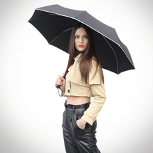 High quality 3 fold umbrella popular women rain umbrella windproof brand automatic man's umbrella waterproof SV3232B(China (Mainland))
