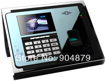 Biometric Time recording fingerprint scanner Lowest of all colorful TFT LCD Fingerprint time attendence reader with TCP/IP