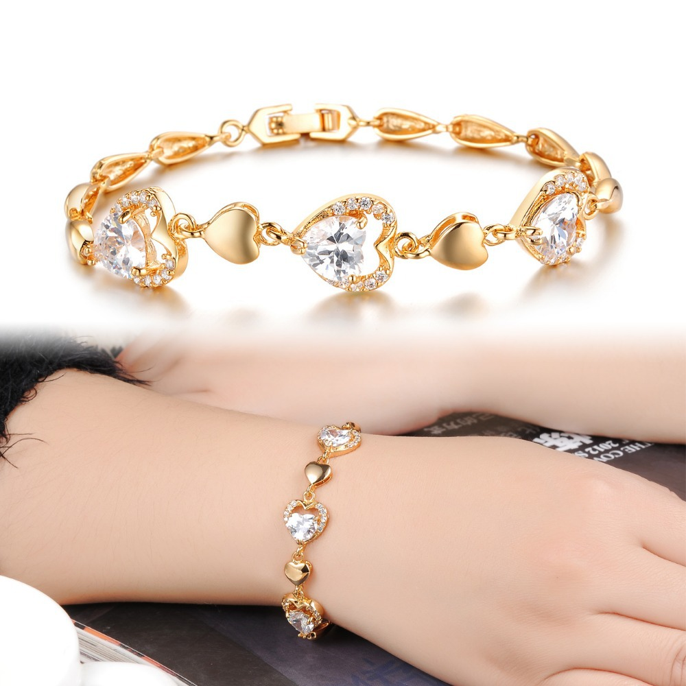 Heart bracelet wedding