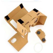 Buy Cardboard + Resin Lens Highest Vr Glasses DIY Cardboard 3D Vr Virtual Reality Glasses Google for $1.55 in AliExpress store