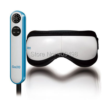 Breo iSee310 white AA battery powered air pressure eye massager