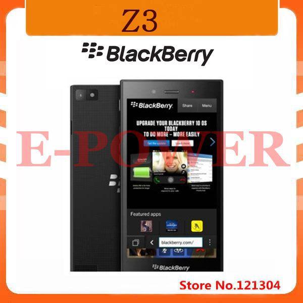 "100% Original Blackberry Z3 Mobile phone 8GB ROM 1.5GB RAM Dual-core 5.0"" Capacitive Screen GPS WIFI 3G Smart Phone(China (Mainland))"