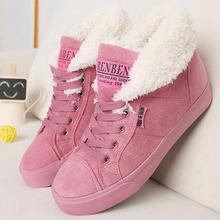 Nuevos 2014 botines calientes de las mujeres botas de nieve botas de piel de moda femenina y otoño invierno de las mujeres calza # Y10308Q(China (Mainland))