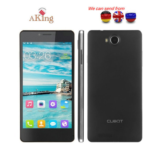 """From UK or Germany or CHINA Original Cubot S222 5.5"""" IPS HD MTK6582 Quad Core 3G Cell Phone 13MP CAM 1GB RAM 16GB ROM WCDMA OTG(China (Mainland))"""