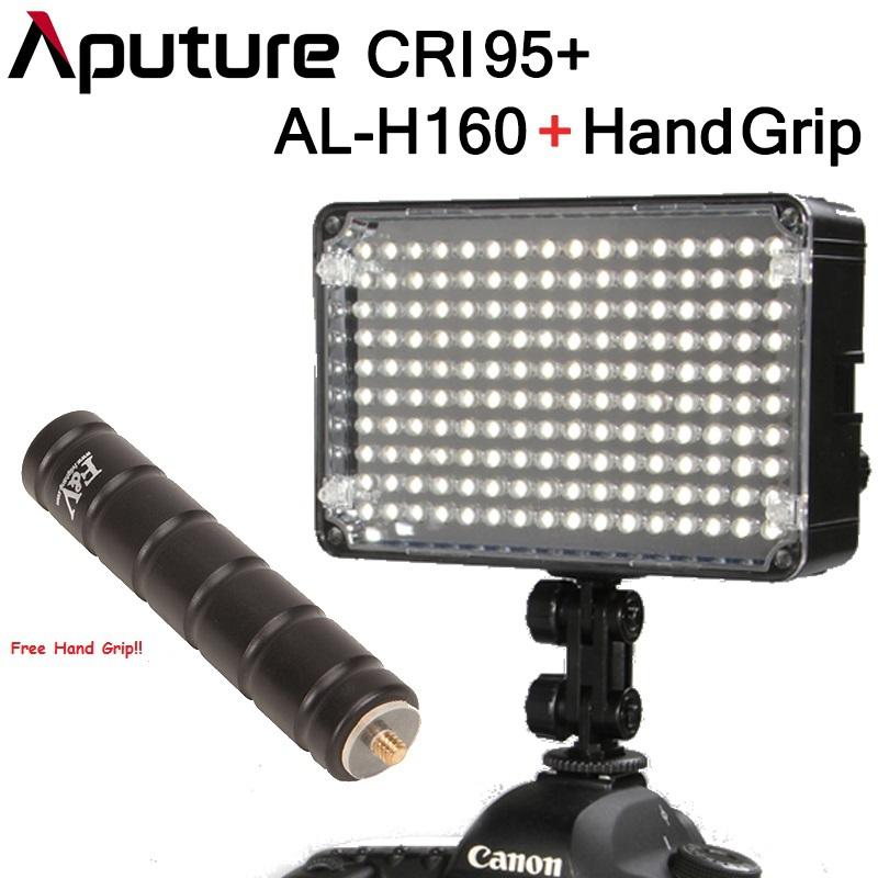 New!Aputure Amaran AL-H160 CRI95+ High CRI LED photo Camera Video Light Canon Nikon Camcorder DV DSLR - Fuzhou Microfilm Solution Co.,ltd store