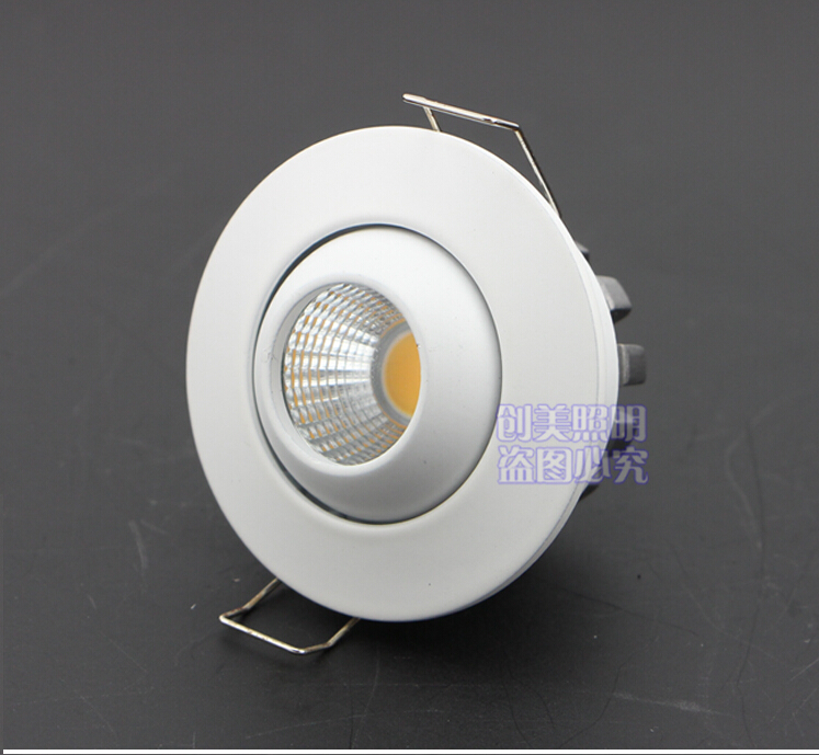 10pcs Led Panel Dimmable Recessed led downlight cob 6W 10W  Round/Square dimming LED Spot light led ceiling lamp cob AC110V 220V<br><br>Aliexpress