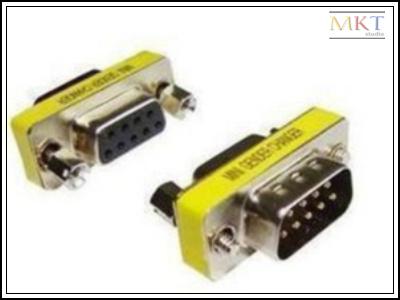 Здесь продается  Wholesale (100Pcs/lot) 9 Pins D-Sub DB9 RS232 VGA Male to Female Connector Adapter Extender Plug  Электротехническое оборудование и материалы