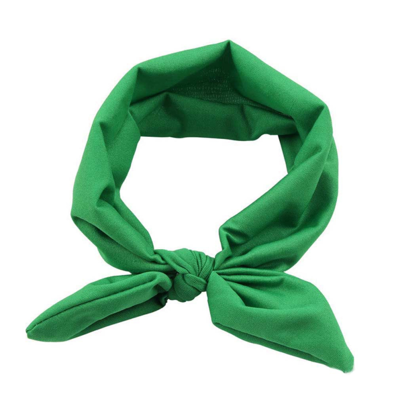 Attractive Solid Color Women Yoga Elastic Bow Hairband Turban Knotted Rabbit Hair Band Headband SP1(China (Mainland))