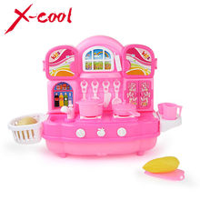 Children's Playsets / Kitchenware / Musical Cookware Set/ Baby Simulation Cooking Educational Toys / Play House Role Toys(China (Mainland))
