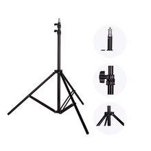 Photo 2M(78.7in) Light Stand Tripod With 1/4 Screw Head For Photo Studio Softbox Video Flash Umbrellas Reflector Lighting