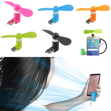 Buy New 2 in1 Mini Micro USB Mobile Phone Fan Portable Flexible Mini USB Fan PC Tablets Android Smartphones QJY99 for $1.27 in AliExpress store
