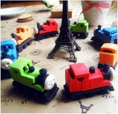 wholesale cartoon simulation train eraser for kids toy / kawaii pencil eraser office stationery rubber eraser 36pcs/lot ARC136<br><br>Aliexpress
