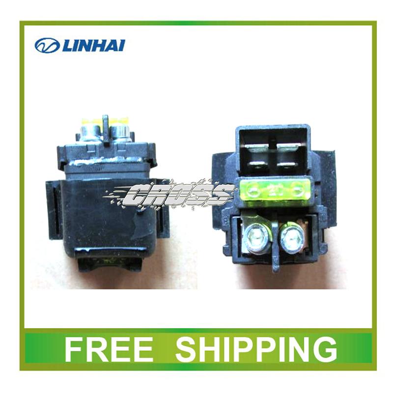 250cc 300cc 400cc LH250 YP250 300T-B LINHAI RELAY motorcycle atv parts accessories free shipping(China (Mainland))
