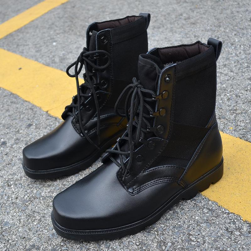 designer black army jungle tactical combat boots ski