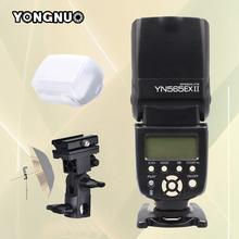 Buy Yongnuo YN565EX II YN-565EX II Wireless TTL Flash Speedlite Canon 500D 550D 600D 1000D 1100D 5D3 6D 7D DSLR Camera & Bracket for $81.50 in AliExpress store