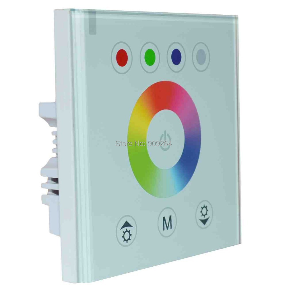 NEW RGB LED switch Controller for RGB LED Strip Light,wall mounted switch for DIY home ...