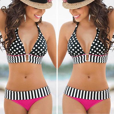 Сексуальные купальники женщин купальник комплект бикини пуш-ап пляжная Bathingsuit