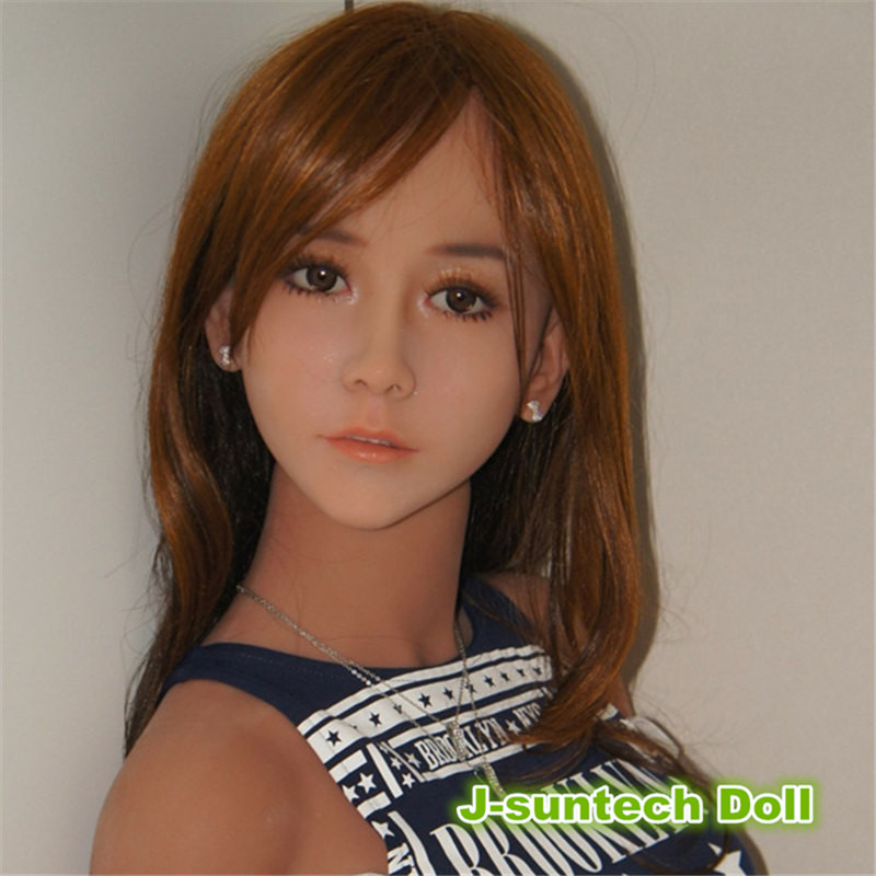 New Japanese sex dolls head for life size sex doll with metal skeleton, oral sex toys doll head for man love doll with makeup(China (Mainland))